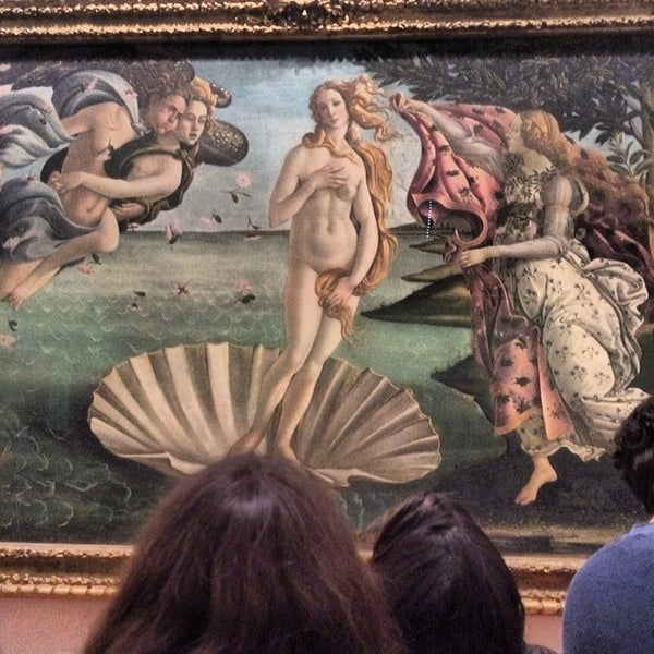Photo taken at Galleria degli Uffizi by Aleksey N. on 2/25/2014