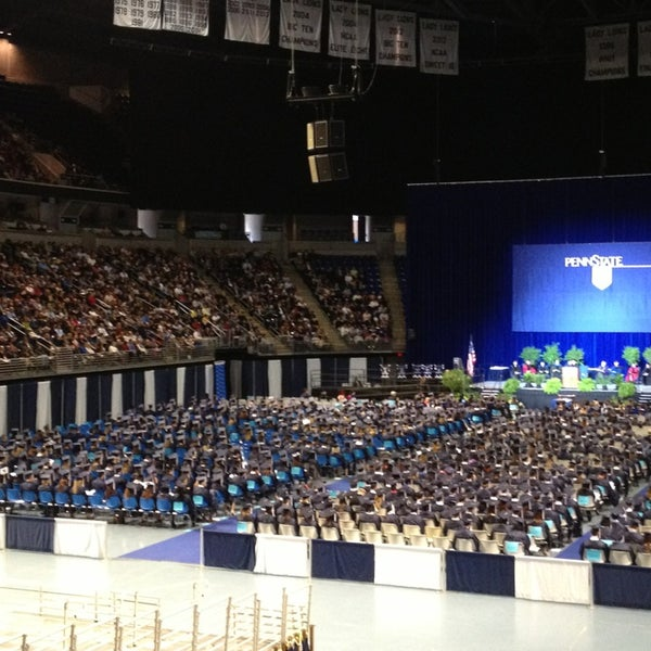 Photo taken at Bryce Jordan Center by Gerd N. on 12/22/2012