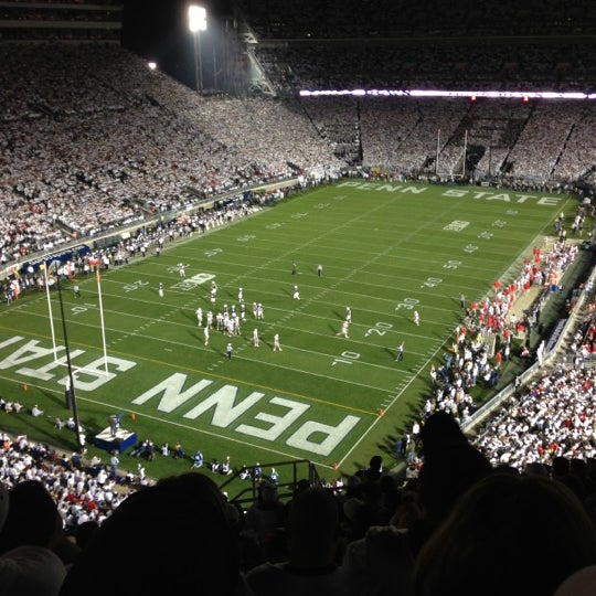 Photo taken at Beaver Stadium by John K. on 10/27/2012