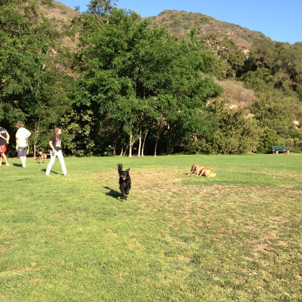 Photo taken at Laguna Canyon Dog Park by Belinda E. on 6/18/2013
