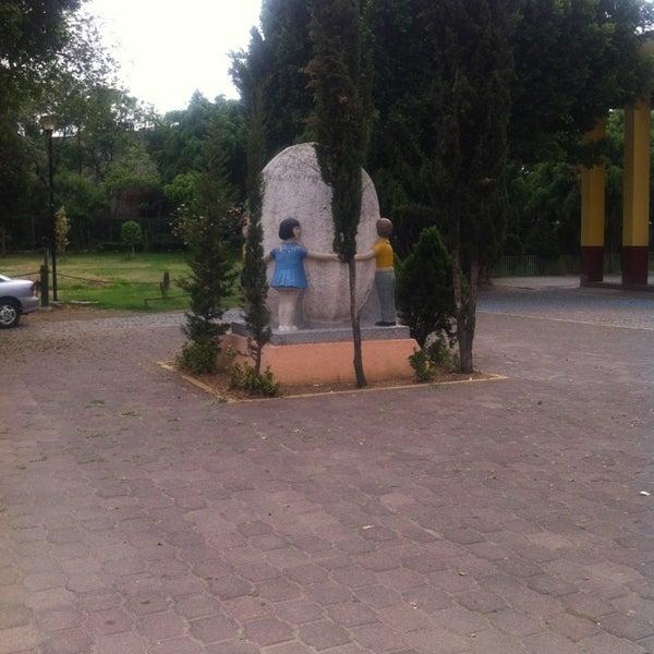 Photo taken at Parque Ecologico Huayamilpas by Aída O. on 5/15/2013