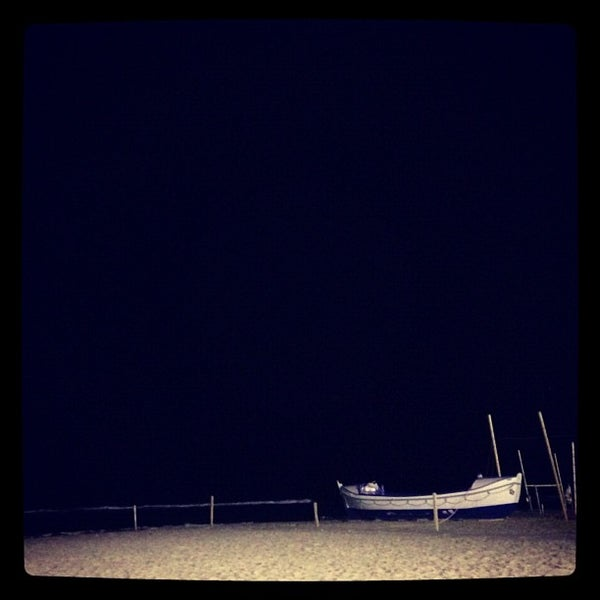 Photo taken at Platja de Calafell by Pere P. on 12/8/2012