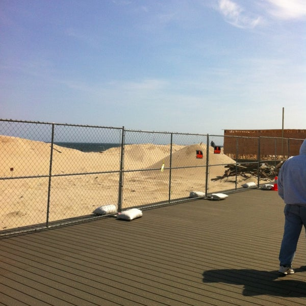 Photo taken at Point Pleasant Beach Boardwalk by Sarah B. on 4/7/2013