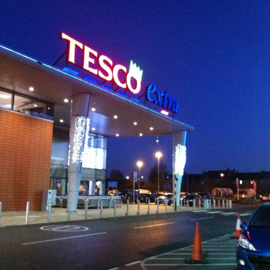 Photo taken at Tesco by Marisa on 12/1/2012