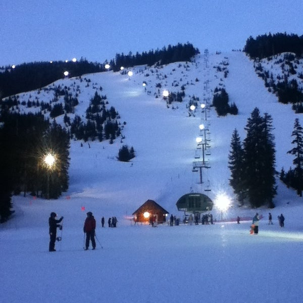 Photo taken at Cypress Mountain Ski Area by Kevin G. on 3/25/2013