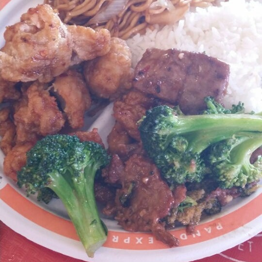 Photo taken at Panda Express by Jerry L. on 12/16/2013