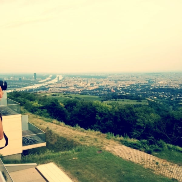 Photo taken at Kahlenberg by Mery on 6/21/2013
