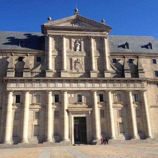 Photo taken at Monasterio de San Lorenzo de El Escorial by Frank A. on 12/1/2012