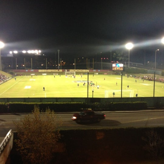 Photo taken at The Seminole Soccer Complex by Jeffrey C. on 11/23/2012