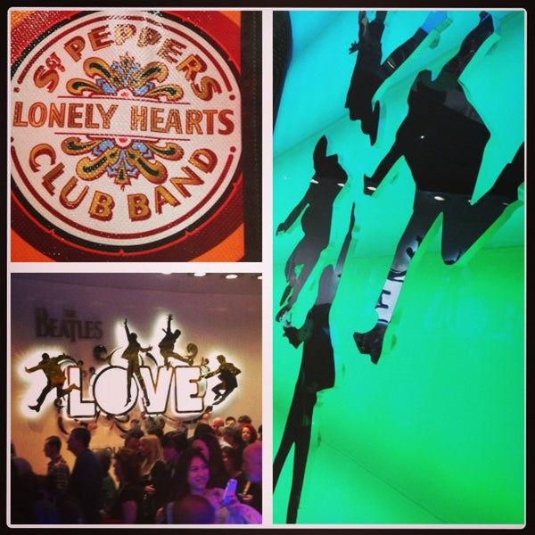 Photo taken at The Beatles LOVE (Cirque Du Soleil) by Paul C. on 2/10/2013
