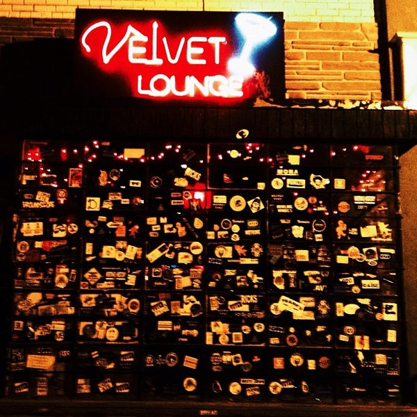 Photo taken at Velvet Lounge by Ellen L. on 9/2/2013