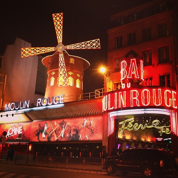 Photo taken at Moulin Rouge by Virginia Y. on 3/24/2013