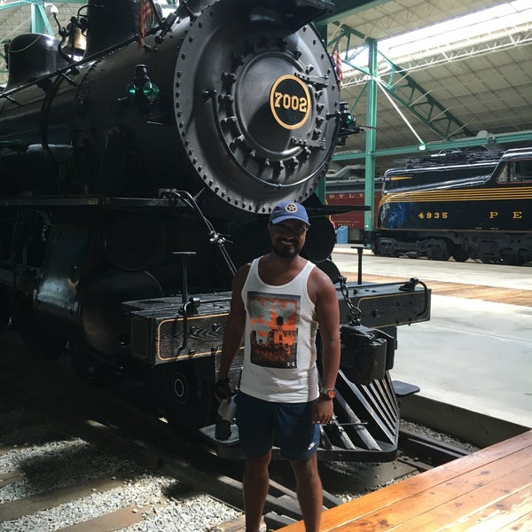 Photo taken at Railroad Museum of Pennsylvania by André M. on 8/13/2016