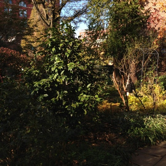 Photo taken at The Garden at St. Luke in the Fields by Chris H. on 11/17/2012