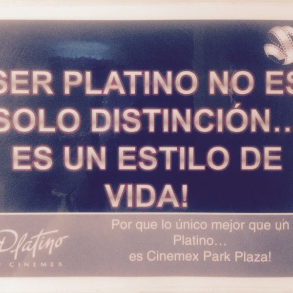 Photo taken at Cinemex by Nancy J. on 10/24/2014