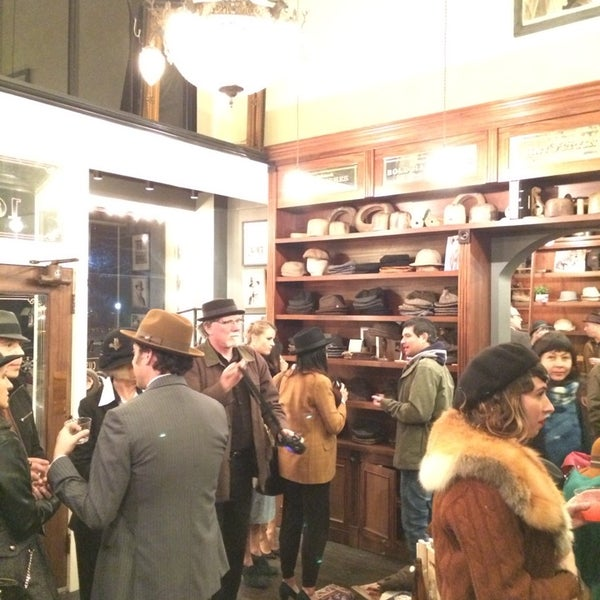 Photo taken at Goorin Bros. Hat Shop by Barron C. on 12/6/2013