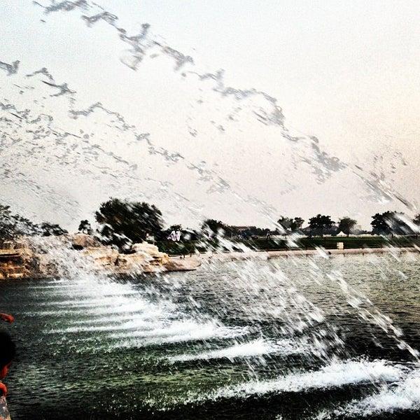 Photo taken at Aspire Park | حديقة اسباير by Hisham a. on 7/1/2013