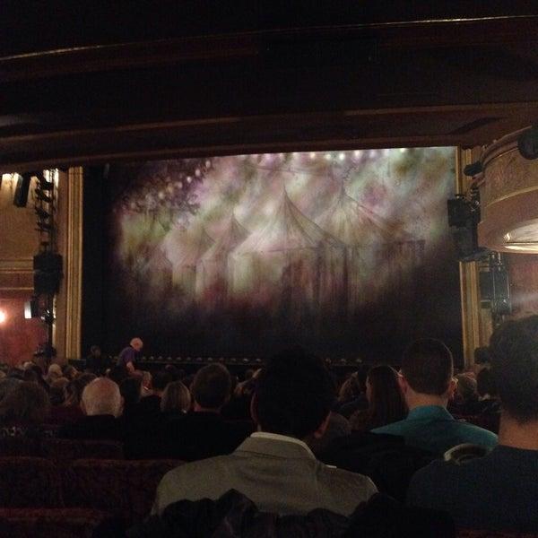 Photo taken at St. James Theatre by Mikki S. on 12/17/2014