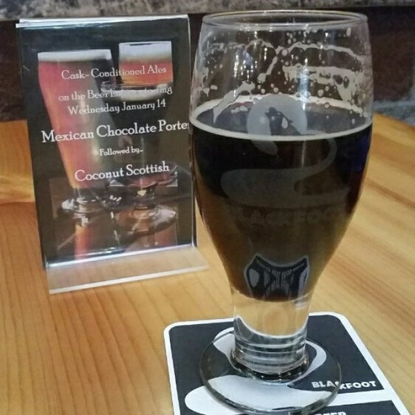 Photo taken at Blackfoot River Brewing Company by Jennifer H. on 1/14/2015