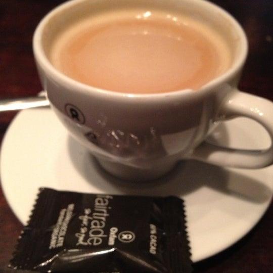 Photo taken at Vooruit Café by John D. on 10/10/2012