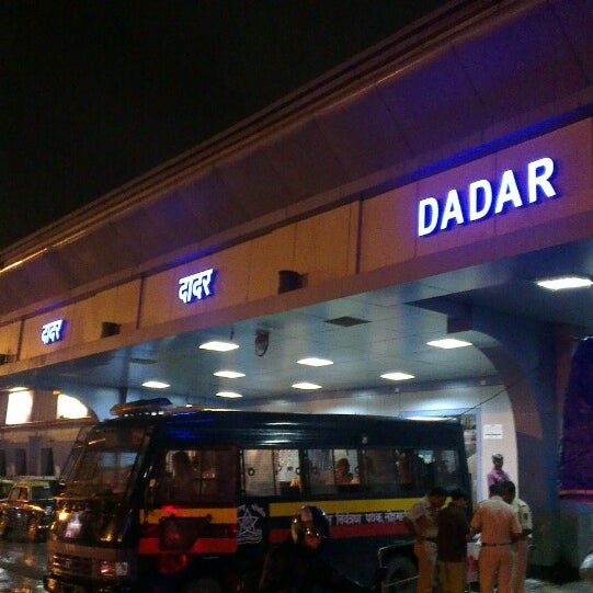 Photo taken at Dadar Railway Station by Evgeny N. on 7/26/2013