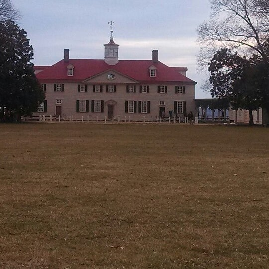 Photo taken at George Washington's Mount Vernon Estate, Museum & Gardens by Monte D. on 3/10/2014