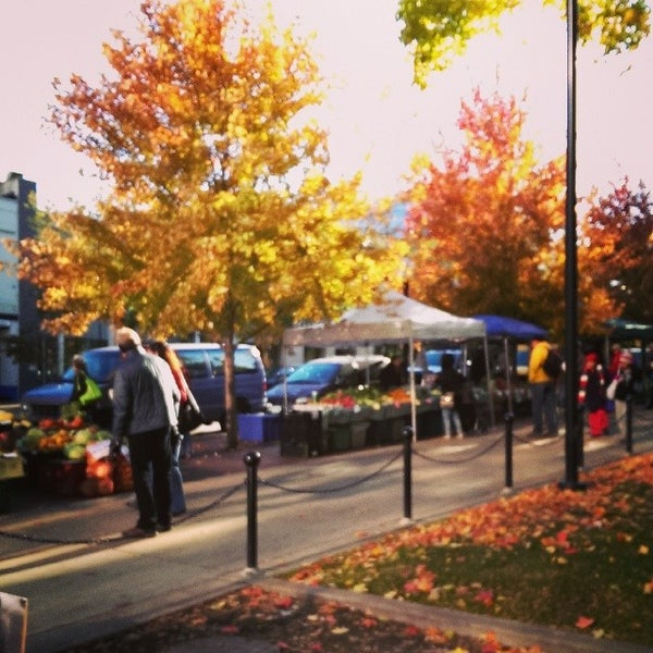 Photo taken at Dane County Farmers' Market by Jenn P. on 10/26/2013