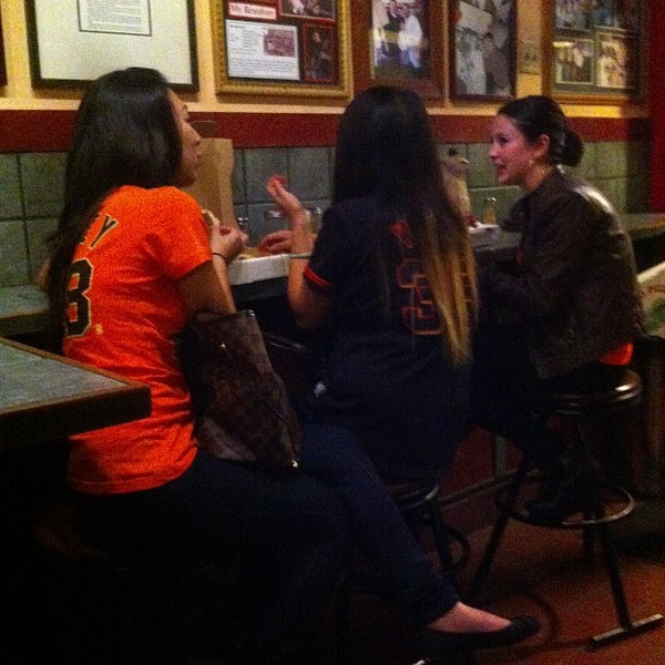 Photo taken at Milano Pizzeria by Phil N. on 10/29/2012
