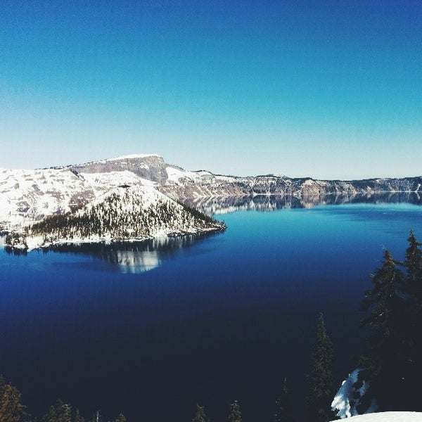 Photo taken at Crater Lake National Park by Eddie M. on 3/21/2014