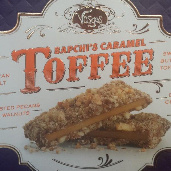 Bapchi's caramel toffee, enough said