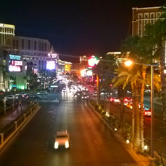 Photo taken at The Las Vegas Strip by Edward G. on 3/12/2014