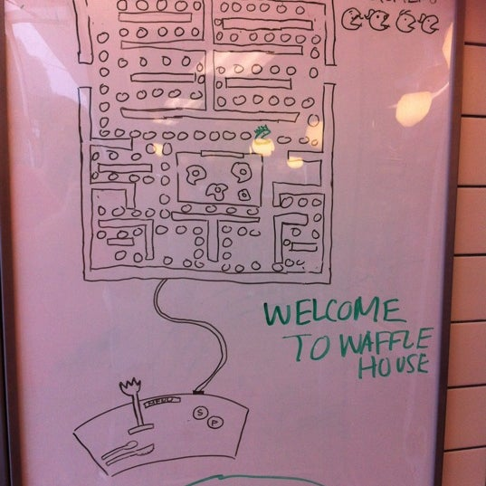 Photo taken at Waffle House by Angel-Marie A. on 11/14/2012