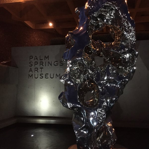 Photo taken at Palm Springs Art Museum by Jeff P. on 1/5/2015