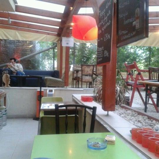 Photo taken at Bobek Cafe by Vera T. on 5/30/2012