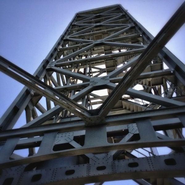 Photo taken at Rio Vista Bridge by Peter S. on 6/8/2014