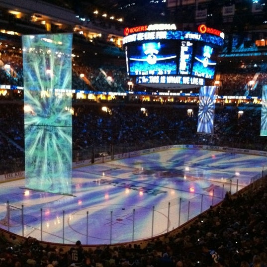 Photo taken at Rogers Arena by David T. on 5/4/2013