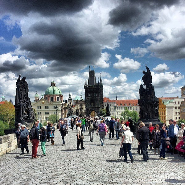 Photo taken at Karlův most | Charles Bridge by Daniel E. on 5/12/2013