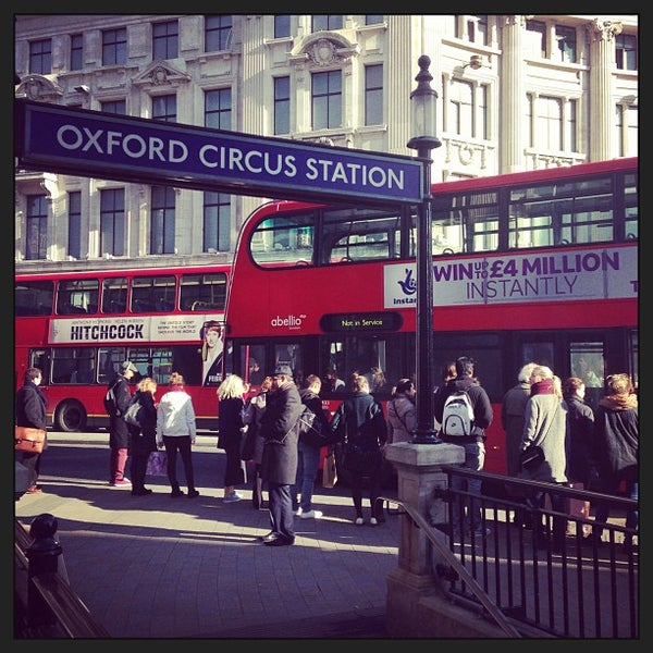Photo taken at Oxford Street by Max T. on 2/8/2013