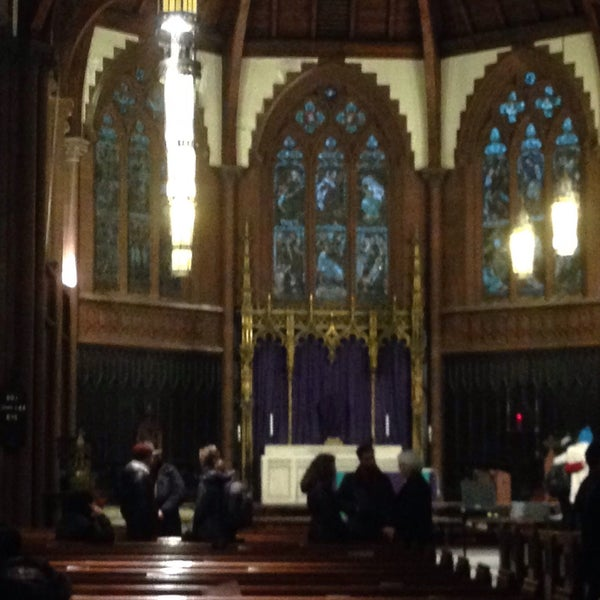 Photo taken at Church of the Holy Trinity (Episcopal) by Henry B. on 3/1/2015