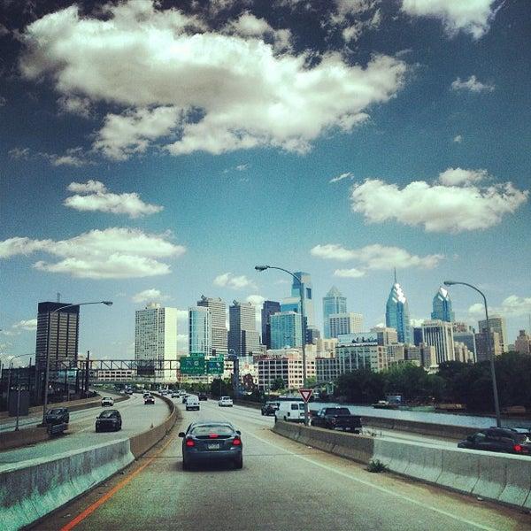 Photo taken at South Street Bridge by Mike D. on 6/19/2013