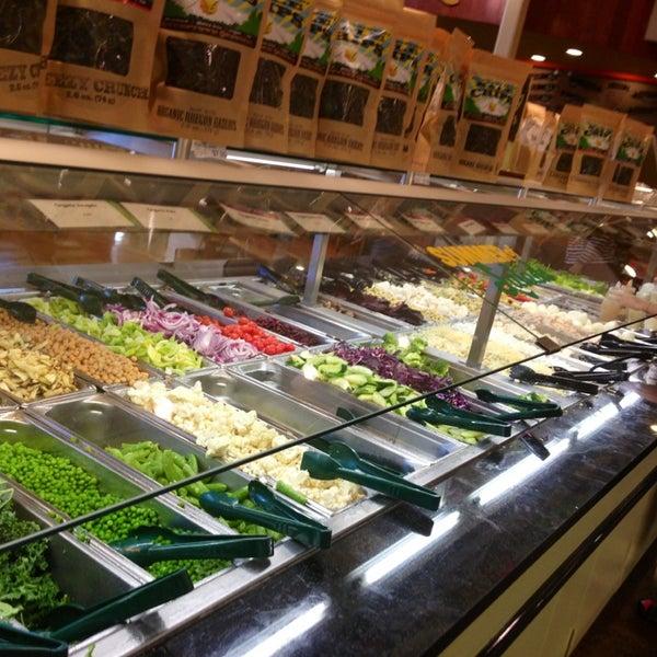 Whole Foods Falafel Salad Bar