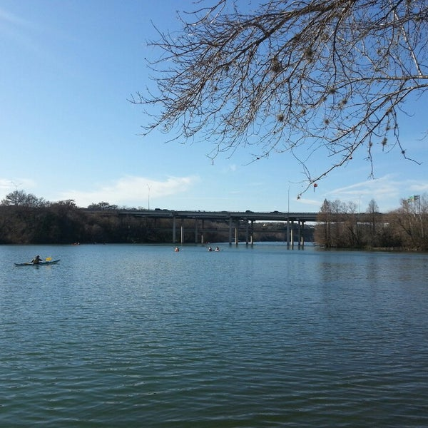 Photo taken at Lady Bird Lake Trail by Mark C. on 2/17/2014