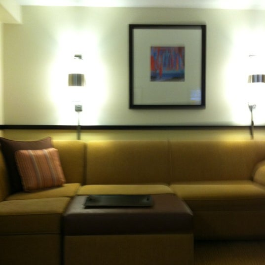Photo taken at Hyatt Place Madison/Downtown by Ariel P. on 11/5/2012