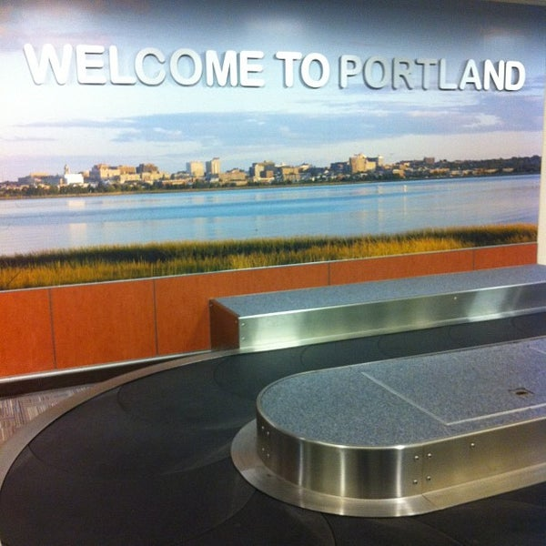 Photo taken at Portland International Jetport (PWM) by Alden F. on 12/25/2012