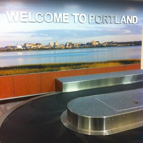 Photo taken at Portland International Jetport (PWM) by Alden F. on 12/25/2012