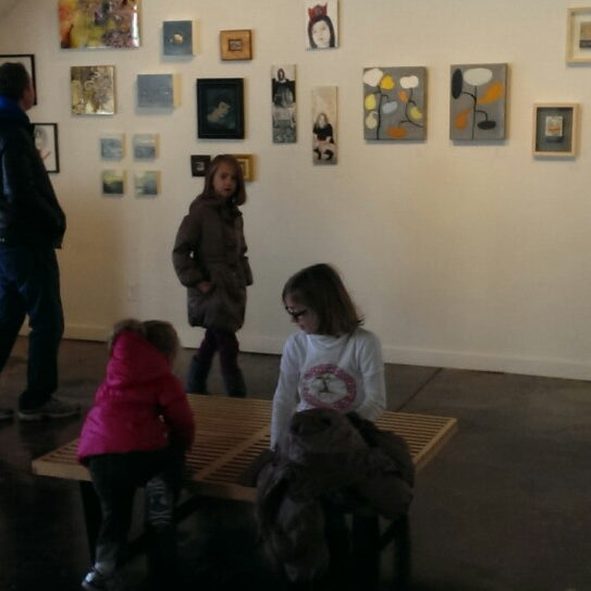 Photo taken at Blue Gallery by Erin M. on 12/7/2013