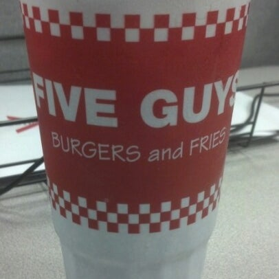 Photo taken at Five Guys by Michael M. on 1/25/2013