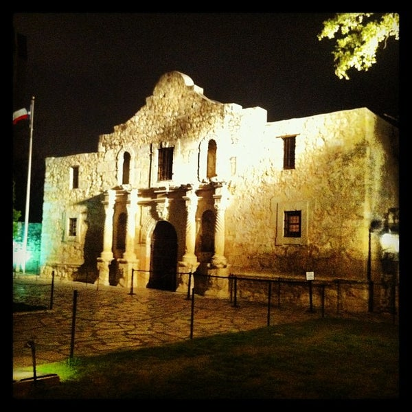 Photo taken at The Alamo by William R. on 1/29/2013