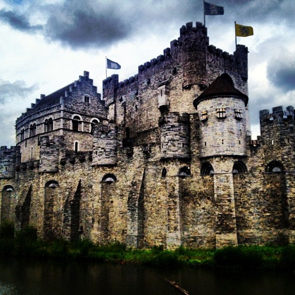 Photo taken at Gravensteen / Castle of the Counts by Gerardo X. on 6/30/2013