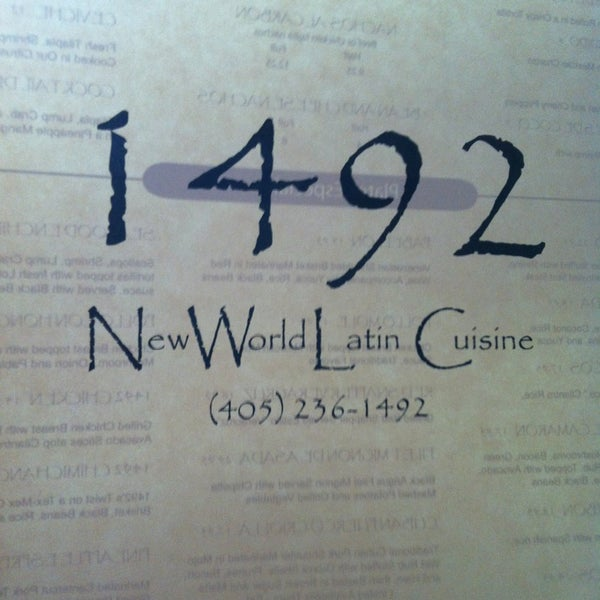 1492 new world latin cuisine midtown 24 tips from 723 for 1492 new world latin cuisine oklahoma city